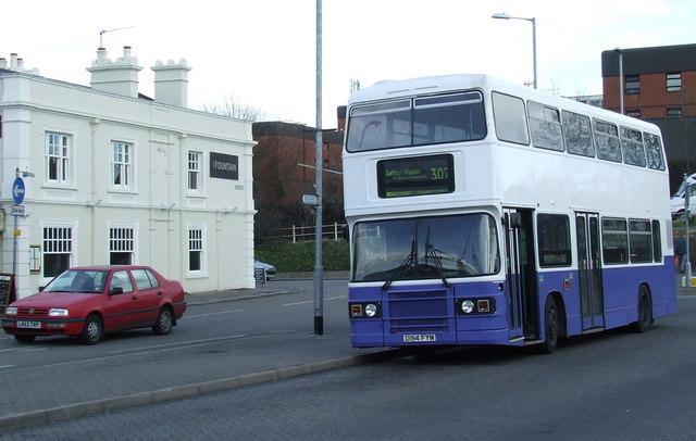 Bus at Bishops Stortford