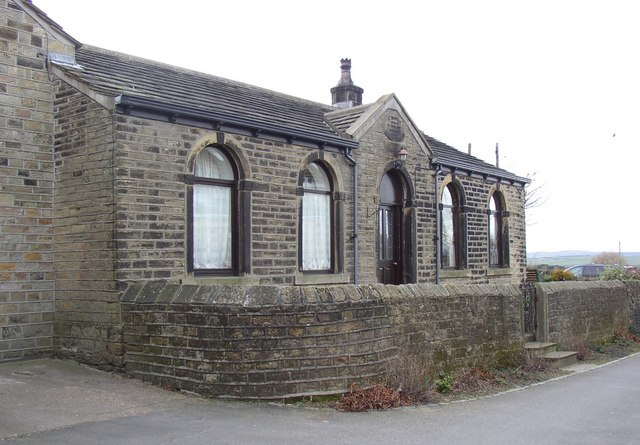 The former National School, Oldfield, Honley