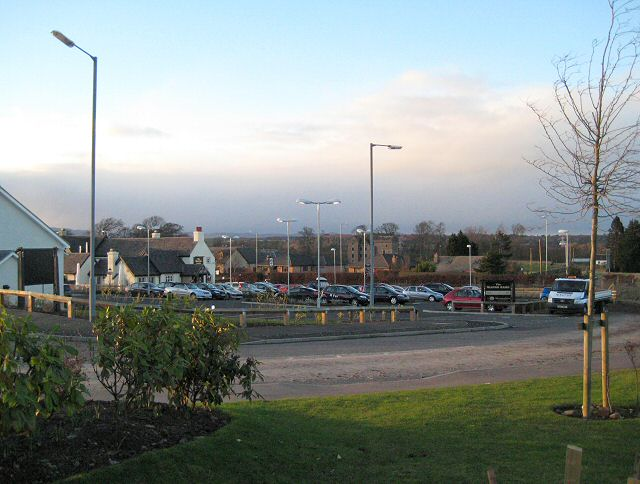 Glover Arms car park