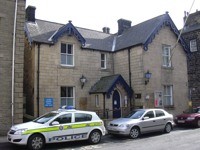 Hebden Bridge Police Station