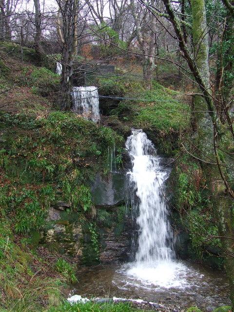 Waterfalls near Cloch Road