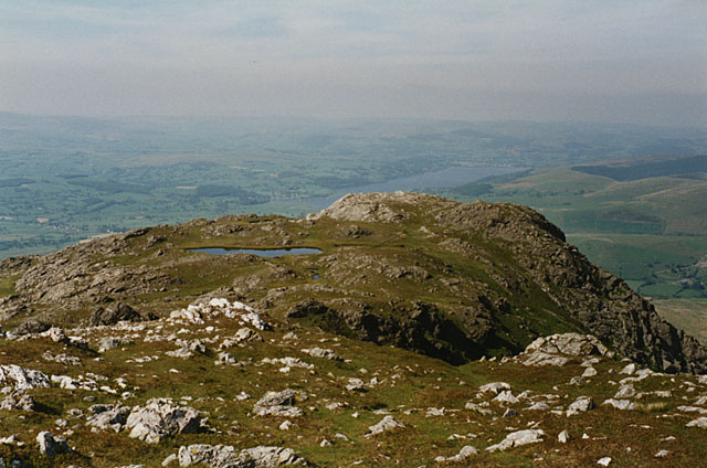 The northeast ridge of Aran Benllyn