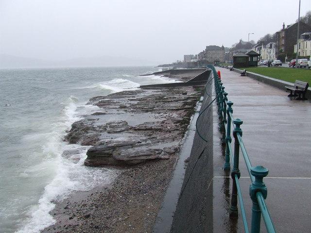 Ashton seafront