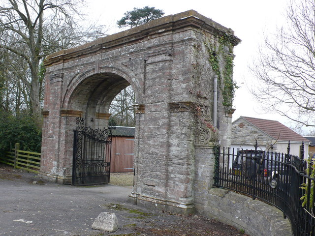Hazelgrove Lodge Gate