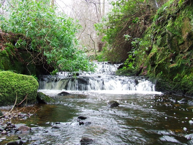 Cascade on the Daff Burn