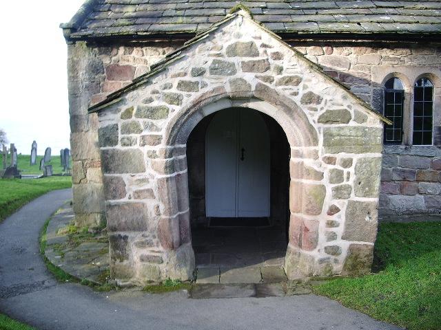 Parish Church of St Peters, Heysham, Porch