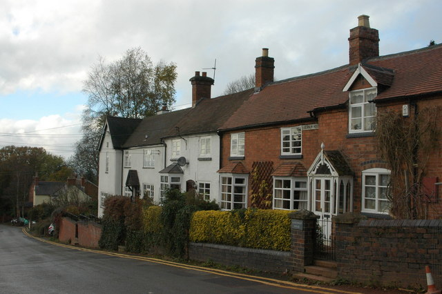Cottages at Adam's Hill, Clent