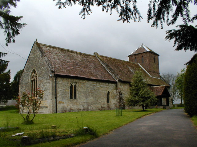 Church of St Nicholas at Peopleton.