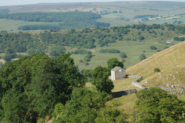 Derbyshire at its best: Alderly Cliff near Earl Sterndale.