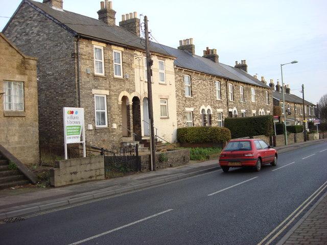 Terraced housing, Girling Street