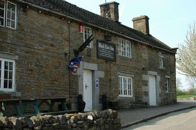 The Black Lion inn, Butterton