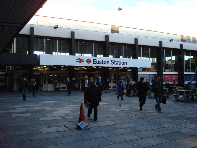 Main Entrance, Euston station