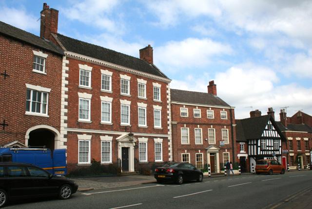 Georgian houses, Welsh Row