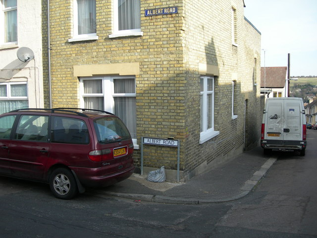 Two Types of Street Name Plates