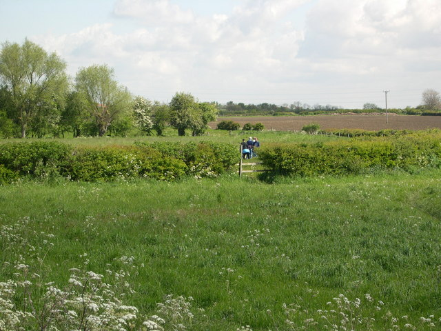 Footpath from Long Bennington to Dry Doddington