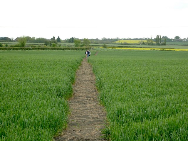 Footpath from Dry Doddington to Claypole