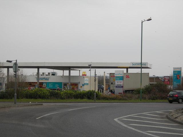 Filling Station, Anthony's Way, Frindsbury