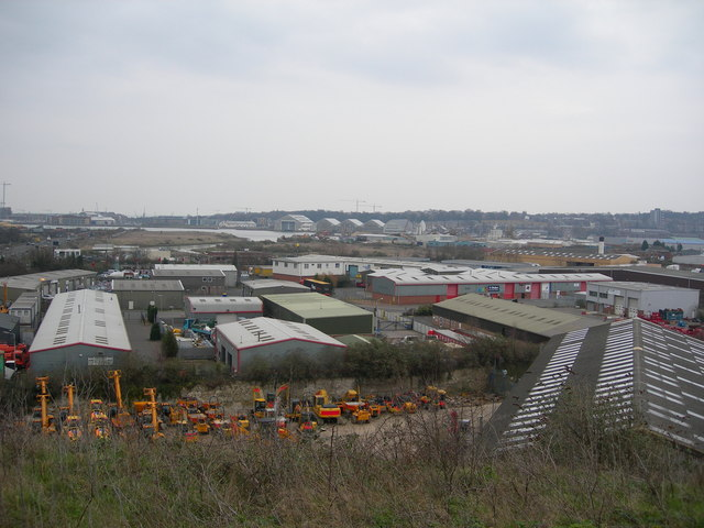 Industry in Frindsbury