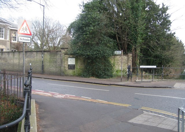 Corner of Bateman Street