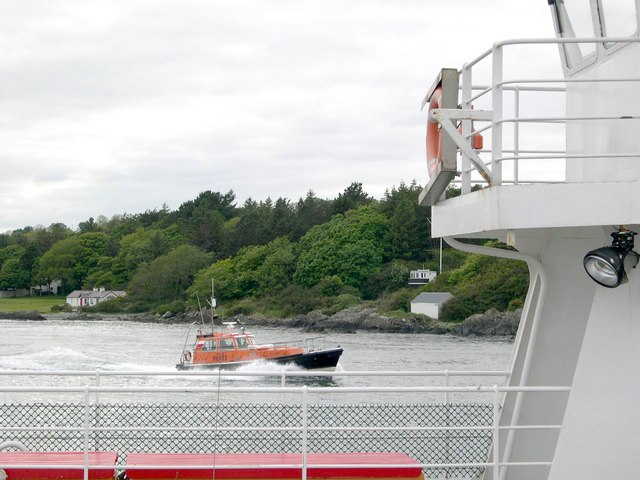 Queensport from Greencastle-Magiligan Ferry