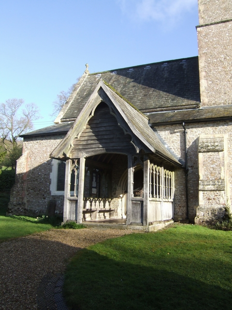 Porch at St Andrew's Church