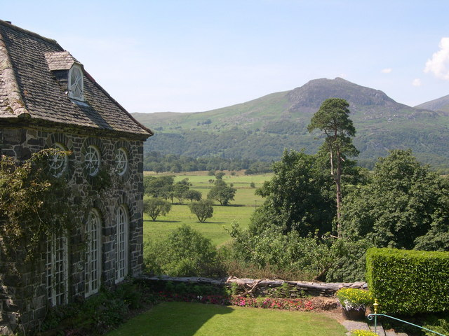 View from Plas Brondanw