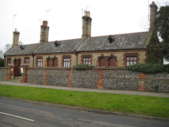 South Mimms: Hickson's Almshouses