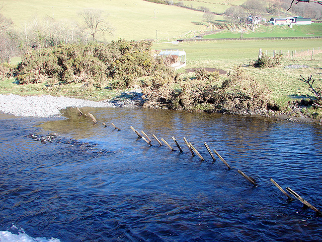 Ford across the Rheidol