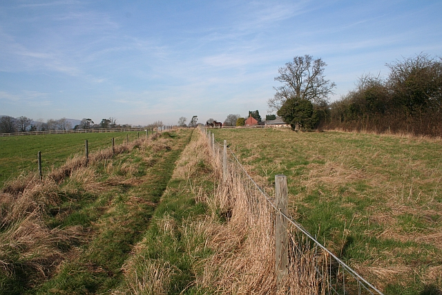 Path to Hanley Hall Farm