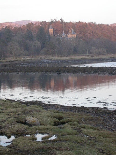 Ardtornish House from near Castle Cottage