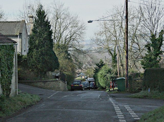 2008 : Junction of Beech Road and Hedgesparrow Lane