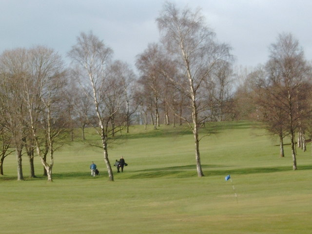 Dumfries & County Golf Club course