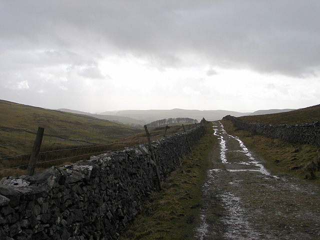 The Pennine Way leading to Horton
