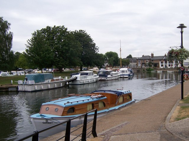 Boats on The Great Ouse-Ely