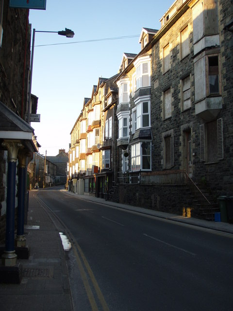 King Edward St. looking north from the front of the Royal Hotel