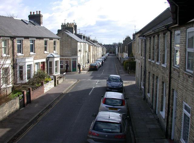 View along Searle Street