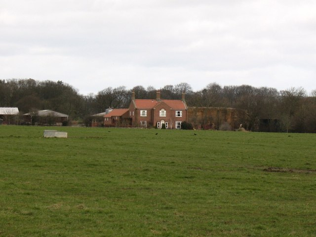 House at Moss End Farm