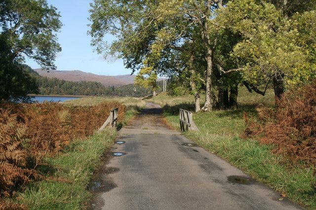 Estate road south of Achranich