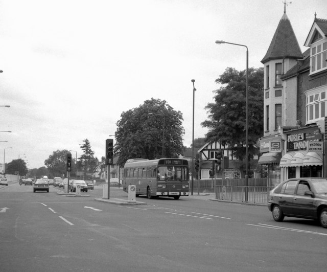 Purley Cross - 1990