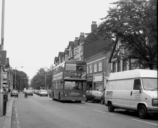 Brighton Road, Purley - 1990