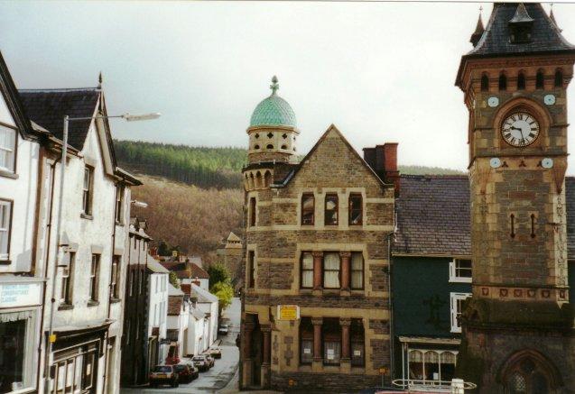 Centre of Knighton