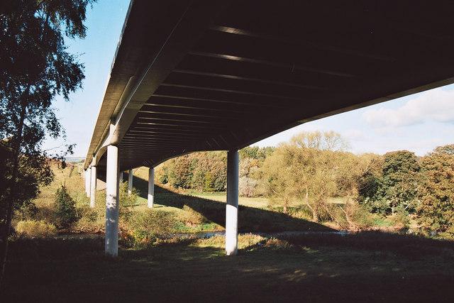 Cottingley Viaduct, Bingley Bypass