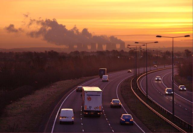 The A50 at dawn