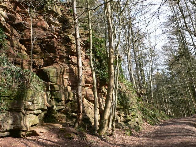 Red Rocks, Wepre Park