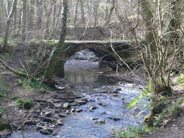 Pont Aber, Wepre Park