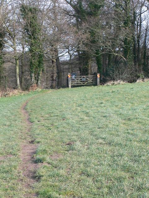 Footpath to Ewloe Castle