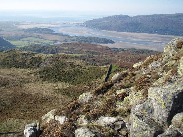 Barmouth from Cefn Hir