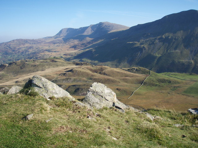 Cader Idris from the hill fort on Cefn Hir