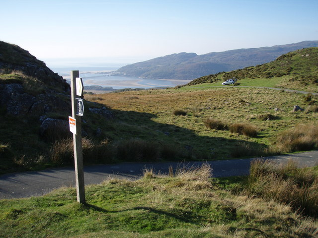 Barmouth from Gregennan Lakes