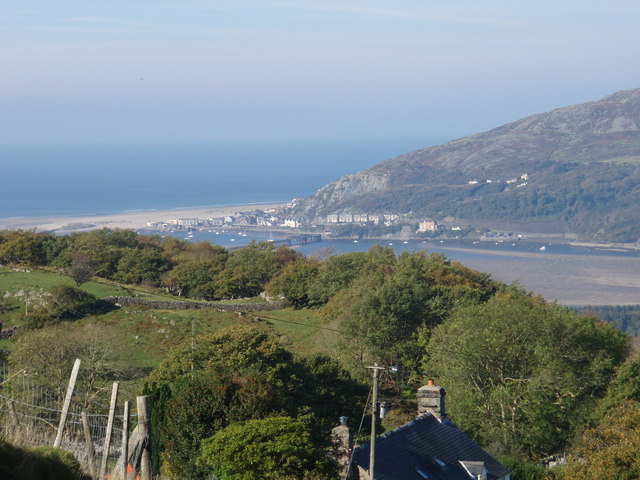 Barmouth Bridge from The Darren